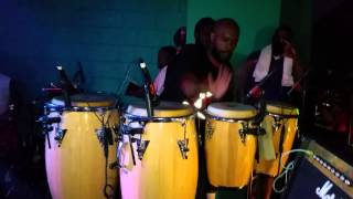 The King Of The Congos GO-GO Smoke with Rare Essence @Eclipse Night Club 8/7/2015