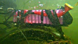✅ Он замкнул! 💥 Подводный Электро- Велосипед пустил искру ⚡ Езда по дну озера