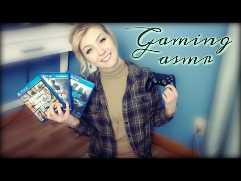 ASMR GAMING-Controller Sounds-Talking About My Games-Tapping-Whispering