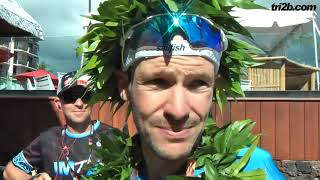 IRONMAN Hawaii 2018: Patrick Lange im Sieger-Interview