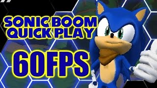 Sonic Boom: Shattered Crystal Quick Play 60FPS (Sonic Month)