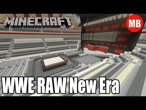 WWE Minecraft Arena | Monday Night RAW! (New Era)
