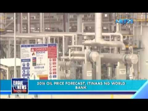 World Bank's 2016 oil price forecast