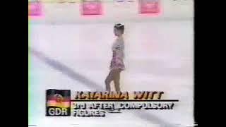 Katarina Witt figure skating Germany Катарина Витт Германия фигурное катание