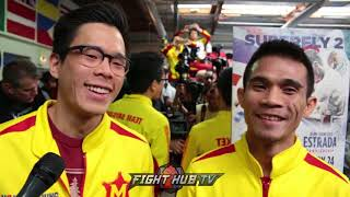 Sor Rungvisai says Manny Pacquiao is his Hero, Confident he'll beat Gallo Estrada