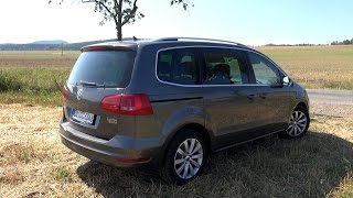 2015 VW Sharan 2.0 TDI 4Motion (140 HP) Test Drive