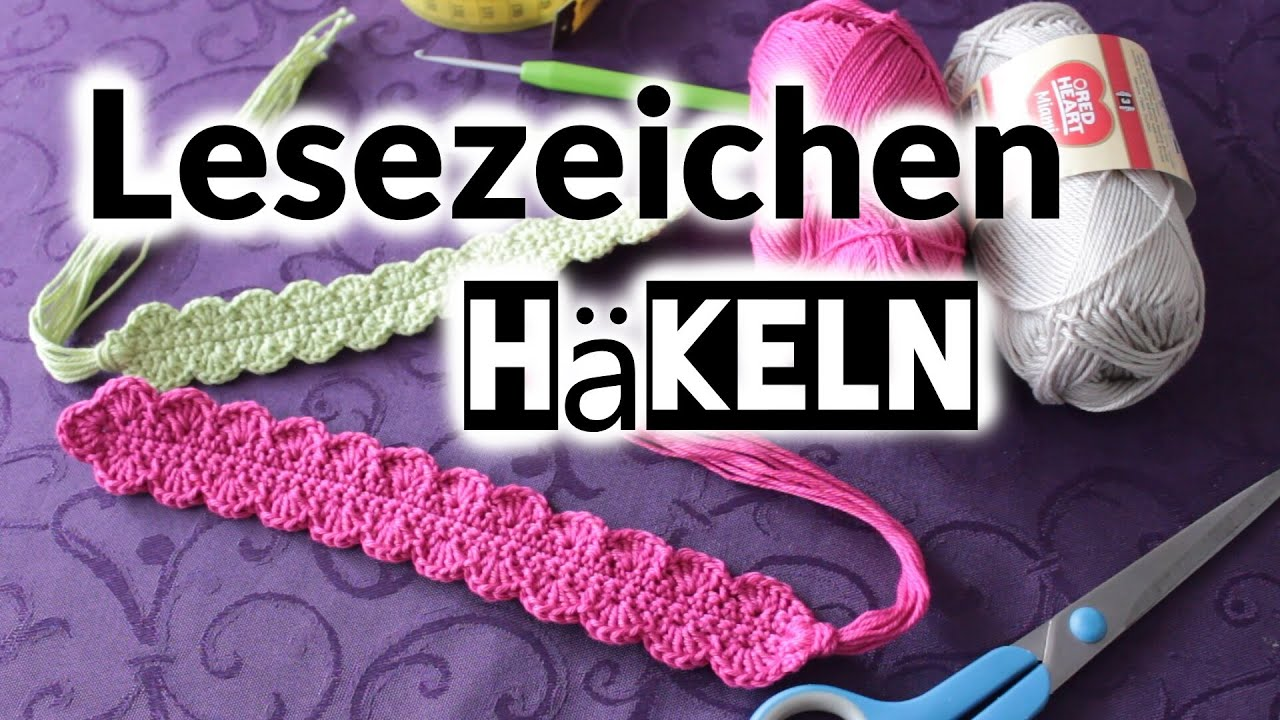 lesezeichen h keln handmade anncooki youtube. Black Bedroom Furniture Sets. Home Design Ideas