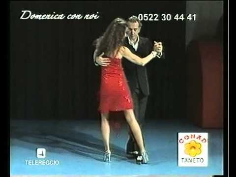 Antonella D'Andrea & Francesco Simonelli Vals d' Amelie (diretta Telereggio 2009)