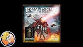 Wings of Glory: Tripods & Triplanes — game preview at SPIEL '17