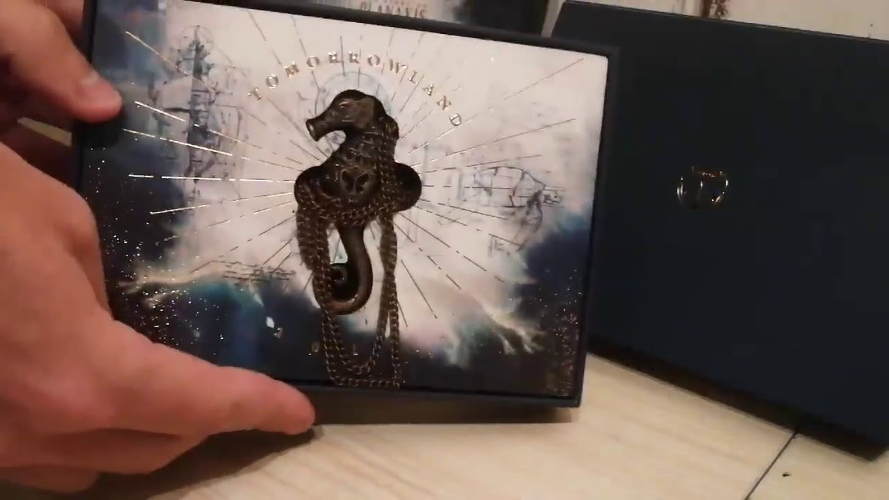 Tomorrowland 2018 Ticket , Unboxing Bracelet (Planaxis Treasure case)