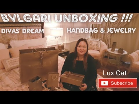 BVLGARI DIVAS DREAM HANDBAG & JEWELRY REVEAL by Lux Cat