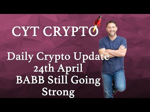 Daily Crypto Update - BABB still going strong, Verge, Bitcoin, Bitcoin Gold, Tron