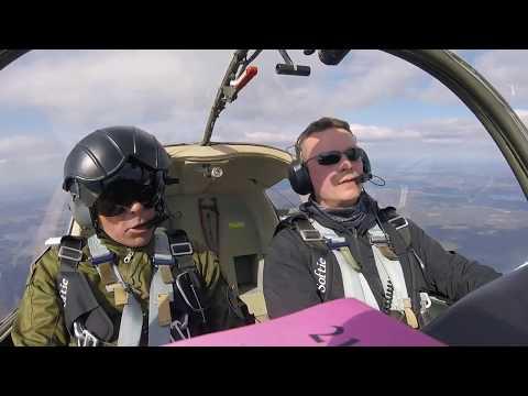 Scottish Aviation Bulldog Aerobatics