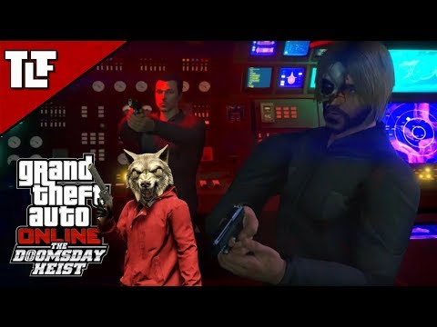 GTA V Online: The Doomsday Heist - Act II Setups and Heist (Stream Archive)