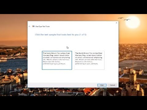 How To Fix Blurry Text On Windows 7/8/10