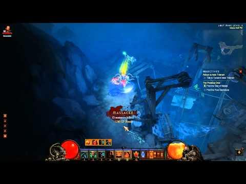 Diablo III - Fields of Misery - Lost Mine Dungeon (PC)