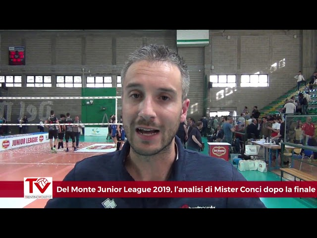 Del Monte Junior League 2019, l'analisi dell'allenatore Conci dopo la finale con Civitanova