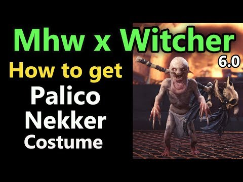 MHW: How to get the Nekker palico costume | Witcher Event | Patch 6.0 thumbnail