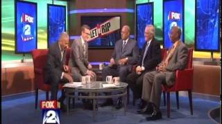 Clark Durant and Horace Sheffield talk charter schools on Fox 2 News - Let It Rip