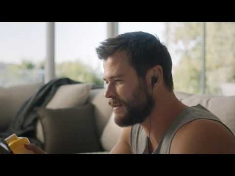 Chris Hemsworth stars in latest Foxtel 'Make It Yours' campaign via Whybin\TBWA