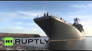 القوات الروسية تجري تدريبات بمنطقة القطب الشمالي