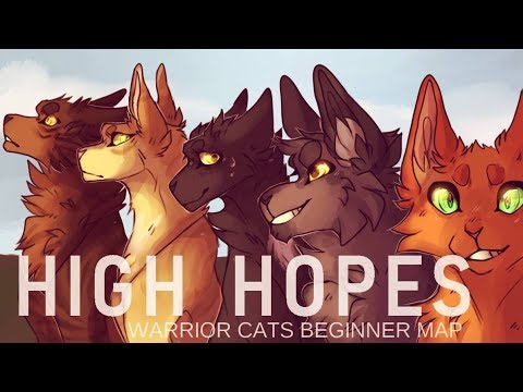 HIGH HOPES COMPLETE WARRIOR CATS BEGINNER MAP