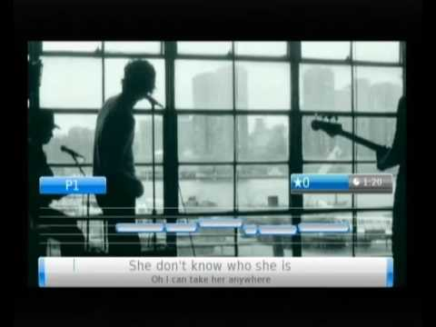 THE KOOKS 'Always Where I Need To Be' on U-SING Wii, the 1st Universal Music Karaoke game on Wii!