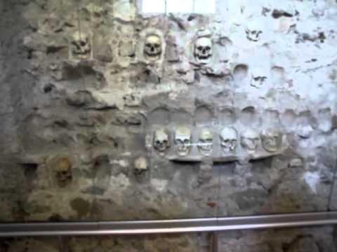 Skull Tower in Nis, Serbia