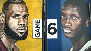 2018 NBA Playoffs Round1   Cavaliers vs Pacers Game 6   ESPN Intro
