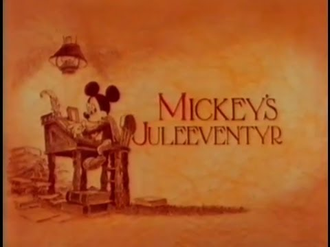 Mickey Mouse - Et Juleeventyr Dansk Version