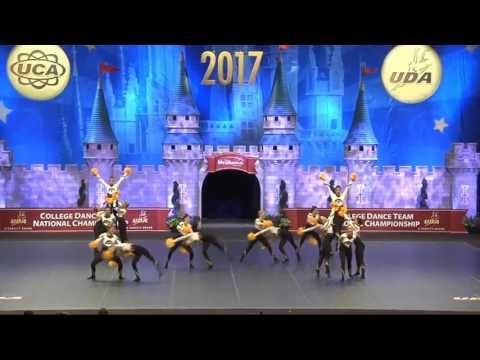 University of Iowa Dance Team Nationals Pom 2017