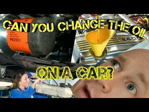 Can You Change Your Cars Oil?