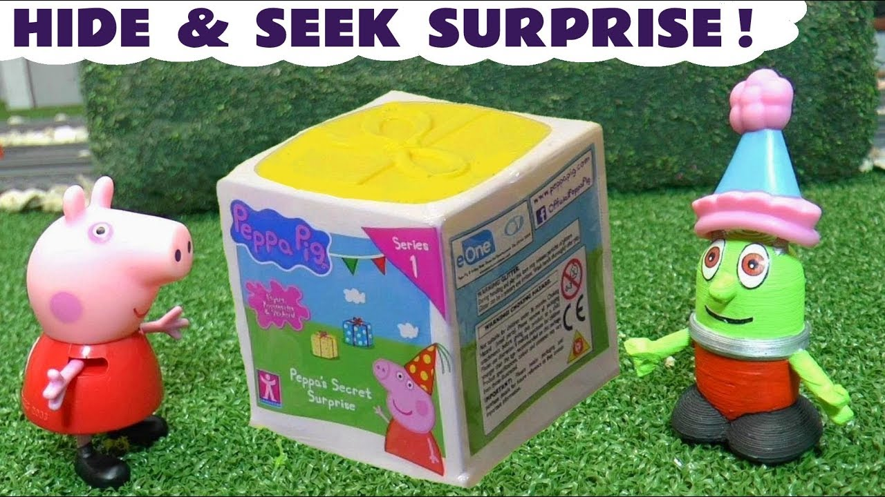 Peppa Pig Full Episode Hide And Seek Learn Colors With