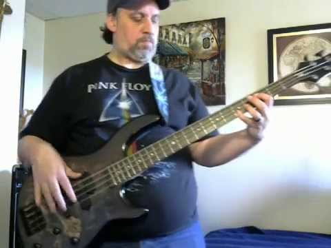 Bass Cover of Only the Young Journey in HD.
