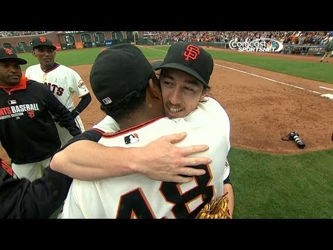 Lincecum pitches his second career no-hitter
