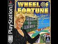 Playstation Wheel of Fortune 2nd Run Game #1