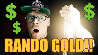 Randonautica App is Real and WE GOT DRIP!! Adventure Paid in Gold and Diamonds BLING BLING BLING!!!