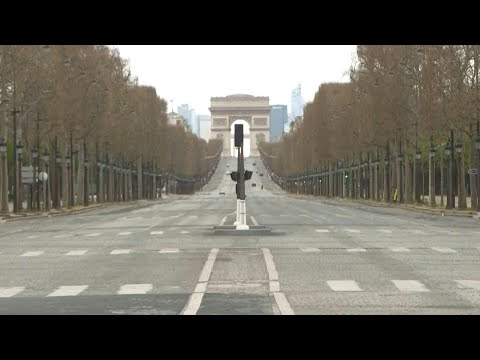 AFP News Agency: Coronavirus: the Champs-Elysées empty on the 13th day of lockdown in Paris | AFP