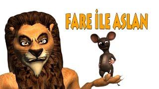 animagift klasik masallar 2 'Fare ile Aslan'