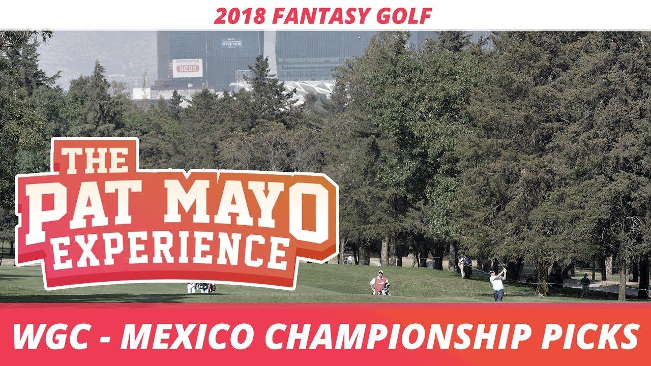 Fantasy Golf Picks 2018 Wgc Mexico Sleepers And Rankings