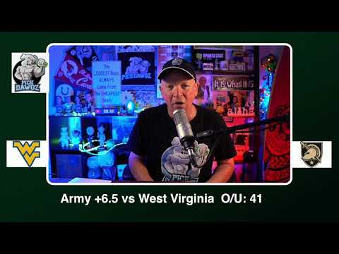 Army vs West Virginia 12/31/20 Free College Football Picks Liberty Bowl