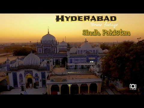 Hyderabad city sindh, Pakistan || Hyderabad Drone footage || Beauty Of Pakistan