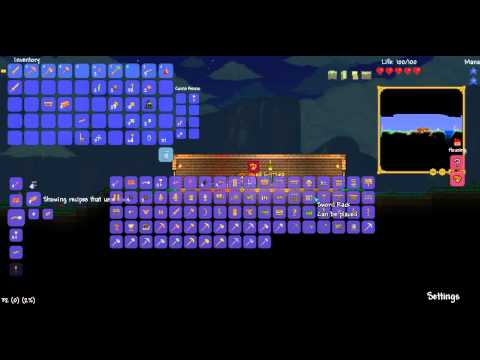 Terraria Let's Play!! Episode 4 - MAJOR Mining Trip!! Part 1 - Dead End...
