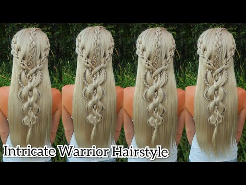 Intricate Warrior Hairstyle | Braided Wig Hairstyles | Cosplay Hairstyles thumbnail