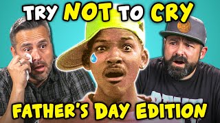 Dads_React_To_Try_Not_To_Cry_Challenge_(Father's_Day)