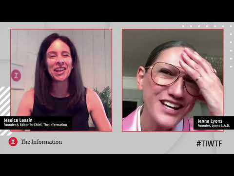 Lyons L.A.D.'s Founder Jenna Lyons in conversation with The Information's Jessica Lessin