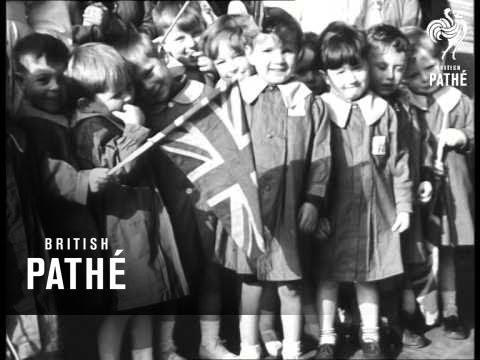 Royal Visit To Bristol And Liverpool (1949)