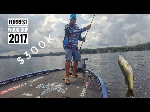 Fishing for 300K and a BIG SILVER CUP  Forrest Wood Cup 2017