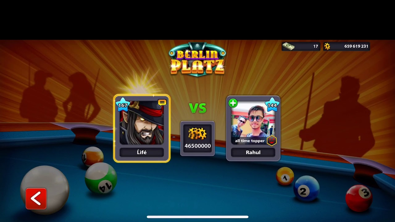 Hi did I get my first Berlin ring ?! Completing all the rings in 8 ball pool.