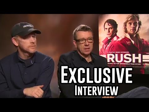 Director Ron Howard and Writer Peter Morgan Interview - Rush
